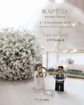 Visit our galery at @ikapesta marketplace 2018 PRPP Semarang 2-4 Nov 2018  #ikapesta2018 #ikapesta #weddingexpo #prewedding #friendsphotovideo #vendorikapesta #semarang #vendorsemarang #ikapestamilliondreams #vendorweddingsemarang